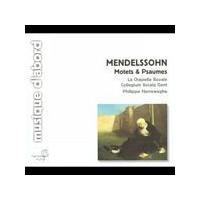 Felix Mendelssohn - Motets & Psalms (Herreweghe, Collegium Vocale) (Music CD)