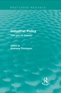 With the advent of Thatcherism in the UK and Reaganomics in the USA, 'industrial policy' had become something of a discredited notion in the 1980s