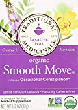 Traditional Medicinals Organic Smooth Move Herbal Stimulant Laxative Wrapped Tea Bags, 16 ct