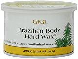 GiGi Hard Body Wax for Brazilian & Sensitive Areas,14oz