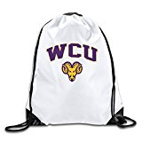 BOoottty West Chester University WCUPA Golden Rams Logo Drawstring Backpack Bag