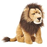 FAO Schwarz 18 inch Lion - Tan