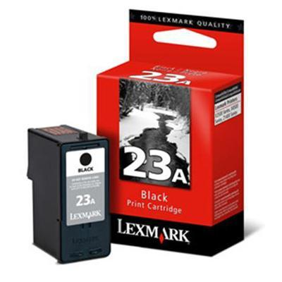 Lexmark 18c1623 Cartridge No. 23a - Black - Original - Ink Cartridge - For X3530  3550  4530  4550  4550 Business Edition  Z1400  1410  1420