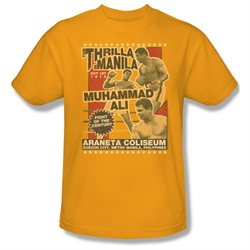 Mens ALI Short Sleeve THRILLA XXLarge T-Shirt Tee