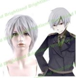 Flyingdragon APH Prussia Short Silver Gray Cosplay Heat Resistant Party Wig