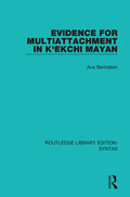 Evidence For Multiattachment In K'ekchi Mayan