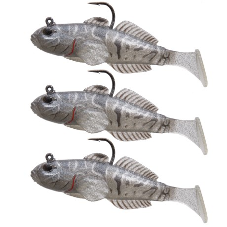 Goby Paddle Tail Lure - 3-pack, 3-5/8?