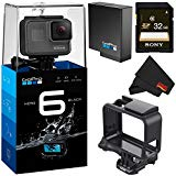 GoPro HERO6 Black Action Camera - Bronze Bundle w/32gb microSDHC Memory Card