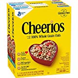 General Mills Cheerios Toasted Whole Grain Oat Cereal, 20.35 oz., 2 Count