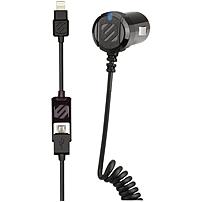 P Quick charge your Lightning or micro USB device in the car with the fastest charging possible