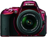The Nikon D5500 DX Format Digital SLR Camera incorporates a touchscreen LCD monitor, giving you greater camera control