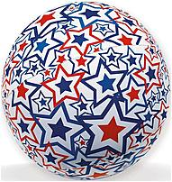 This impact activated inflatable Swim Ways 795861123103 12310 Light up Beach Ball is perfect for an evening at the pool, in the backyard, or at the beach.