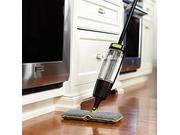 Casabella Quick Scrub Doubled Sided Microfiber Spray Mop, Black