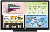 Sharp Pn-l703w 70-inch Touchscreen Interactive Led Monitor - 1080p - 3000:1 - 6 Ms