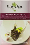 Mighty Leaf Black Tea, Organic Earl Grey, 15 Pouches (Pack of 6)