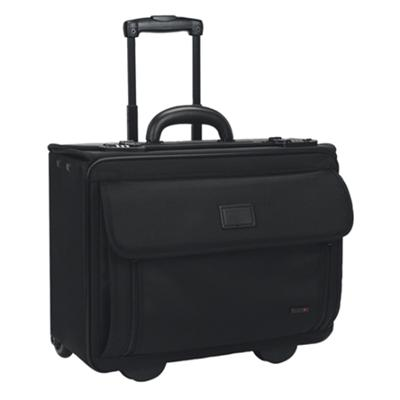 Solo B78-4 Classic Rolling Laptop Catalog Case B78-4 - Notebook Carrying Case - 15.4 - Black