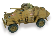 Lindberg 1:35 scale German Armored Car SD.KFZ 222