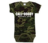 Call Of Doody Funny Video Game Infant Baby One Piece Newborn Camo