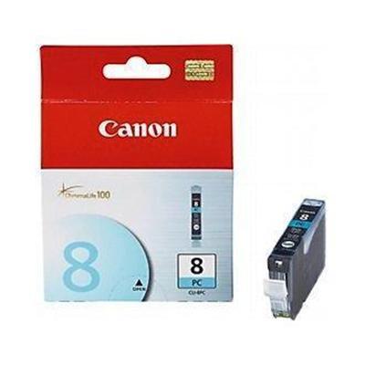 Canon 0624b002 Cli-8pc - Photo Cyan - Original - Ink Tank - For Pixma Ip6600d  Ip6700d  Mp950  Mp960  Mp970  Pro9000  Pro9000 Mark Ii