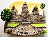 Angkor Wat CAMBODIA Khmer Resin 3D fridge Refrigerator Thai Magnet Hand Made Craft. by Thai MCnets