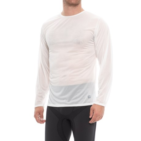 Natural Crew Neck Base Layer Top - Long Sleeve (for Men)