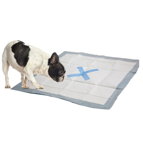 X Marks The Spot Puppy Pads - 50-count