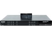 DVDO  MATRIX44 4K Ultra HD 4x4 Fast HDMI Matrix Switch UHDDVDO-MATRIX44