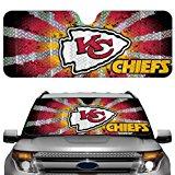 NFL Kansas City Chiefs Auto Sun Shade