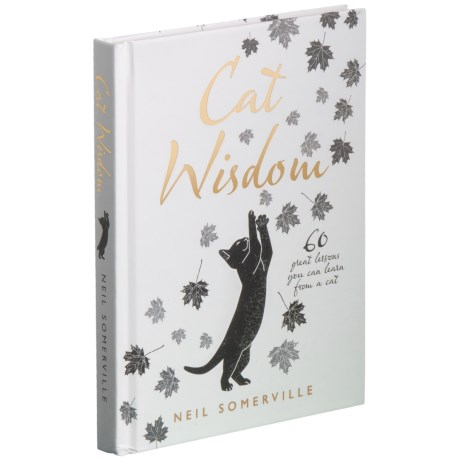Cat Wisdom: 60 Great Lessons You Can Learn From A Cat Book