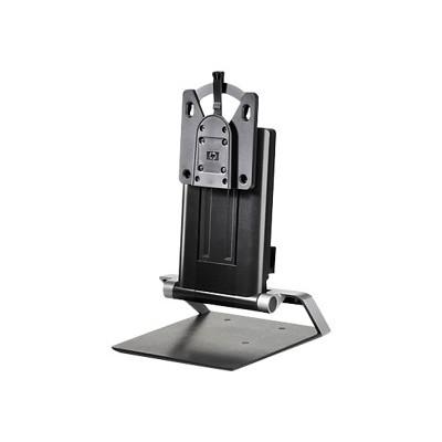 Hp Inc. G1v61at Integrated Work Center Stand - Monitor/desktop Stand - 17-24 - Black - For  260 G2  T530  T628  V206  Z24  Elitedesk 705 G3  Elitedisplay E23123