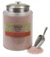Hugo Naturals. Indonesian Patchouli & Sandalwood Effervescent Bath Salts.10 Oz