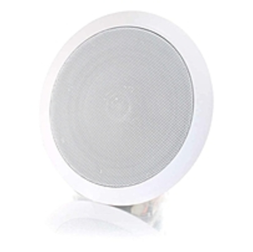 C2g 39904 Cables To Go 6in Ceiling Speaker - White - 90 Hz To 20 Khz - 8 Ohm - Ceiling Mountable