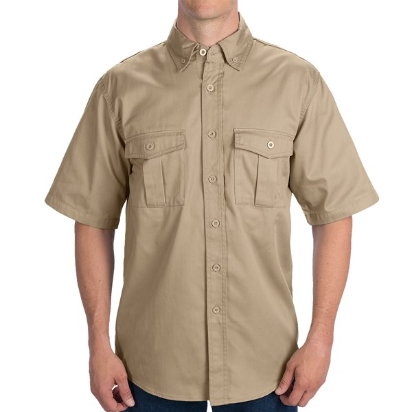 Walls Workwear Shooter Shirt - Short Sleeve (For Men)