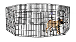 Midwest 550-24dr 24-inch High Exercise Pen