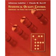 Statistical Quality Control : Strategies and Tools for Continual Improvement