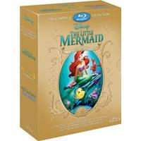 The Little Mermaid Boxset (1, 2 & 3) (Blu-ray)