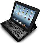 Adesso Compagno Air Bluetooth 3.0 Scissor-switch Keyboard & Folio Case Wkb-1020db