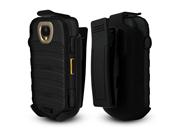 Black Soft Touch Holster Belt Clip For Kyocera Duraxt E4277 - Technocel Oem