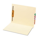 Manila End Tab Folder, 1 Fastener, Straight Tab, Letter, 50/box