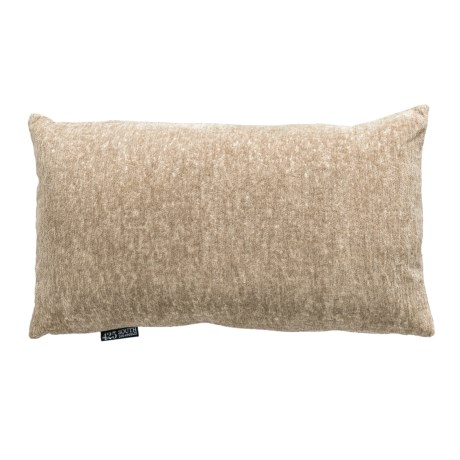Cian Metallic Textured Throw Pillow - 14x24?, Feathers