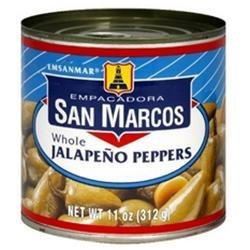 San Marcos Whole Jalapeno Tin