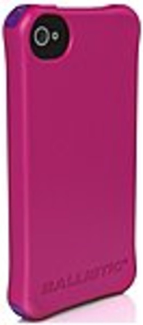 Ballistic Iphone 4/4s Ls Series Case - Iphone - Hot Pink - Polymer, Thermoplastic Polyurethane (tpu)