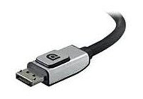 Belkin F2cd000b06-e 6 Feet Audio/video Cable - 1 X 20-pin Male - 1 X 20-pin Displayport Male - Black