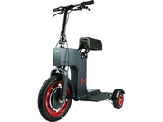 Acton M Scooter - Fully Foldable, Electric, Sit Or Stand Scooter - Black