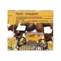 Johann Friedrich Fasch, Johann Christopher Graupner: Concertos for Bassoon and Orchestra (Music CD)