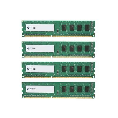 Edge Memory Mar3r1067t16g24x4 Mushkin Iram Series 64gb Pc3-8500 Ddr3 Ecc/reg Dimm Kit (4x16gb)