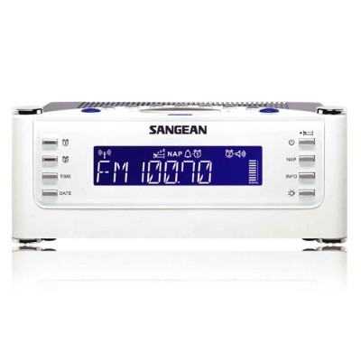Sangean Rcr22 Fm-rds (rbds) / Am / Aux-in Tuning Clock Radio With Radio Controlled Clock