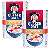 QUAKER oatmeal Old fashion style 2.26kgX2 bags two