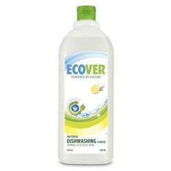 Ecover Dishwashing Liquid, Lemon & Aloe Vera, 32 fl oz