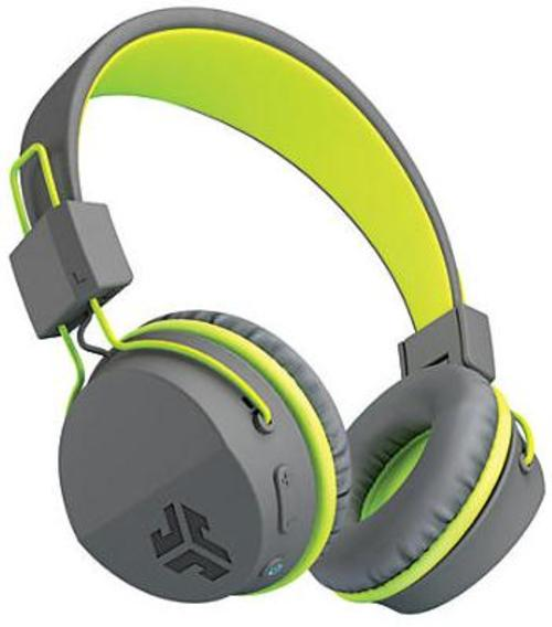 Jlab Audio Hbintrorylw Intro Bluetooth Over-the-ear Headphones - Gray, Green